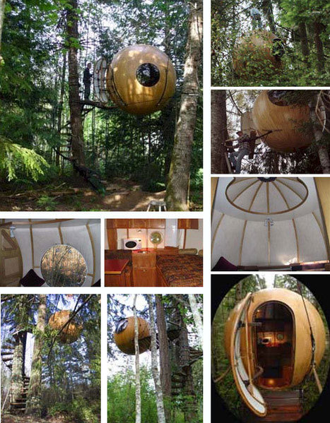 10 Amazing Tree Houses: Plans, Pictures, Designs & Building Ideas   WebUrbanist   What Surrounds You   Scoop.it