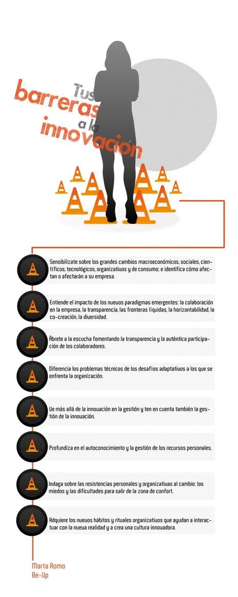 #Infografía #Innovacion - Recomendaciones para superar tus barreras a lainnovación | Empresa 3.0 | Scoop.it