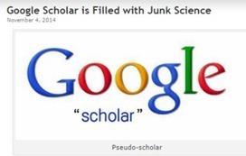 Rédaction Médicale et Scientifique: Google Scholar contiendrait trop de science non évaluée par les pairs, voire de pseudo-science : vont-ils corriger cela ? | SCOOP DU JOUR | Scoop.it