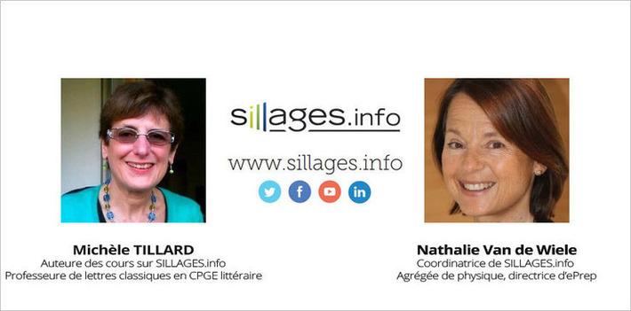 Sillages.info : Interview de Nathalie Van de Wiele et Michèle Tillard | MOOC Francophone | Scoop.it