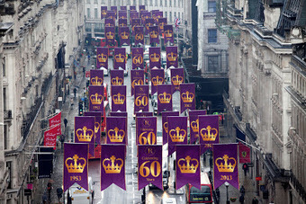 Vintage Amethyst: Regent Street Celebrates the Coronation | Small Back Room | Scoop.it