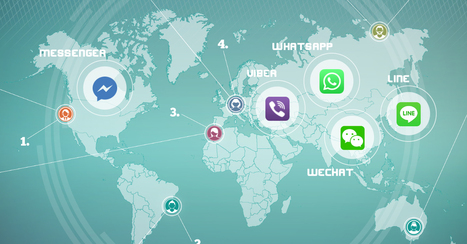 "Paese che vai ""messaging app"" che trovi  