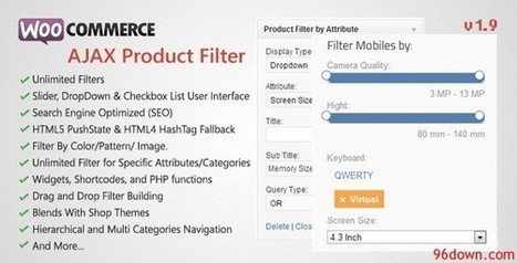 WooCommerce AJAX Product Filter v1.9 | Download Free Nulled Scripts | xthxthth4h | Scoop.it