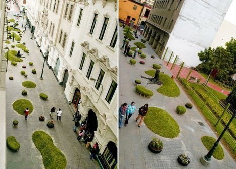 Green Invasion in Lima Creates HEALTHY Public Spaces | GreenLichen.com | URBANmedias | Scoop.it