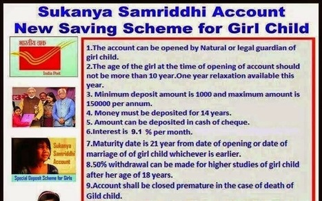 How to open Sukanya Samriddhi Account   Exam result 2013   Scoop.it