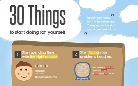 30 Things You Should Do For Yourself | Be a better, healthier, happier person | Scoop.it