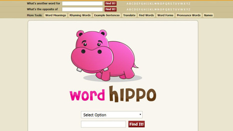WordHippo Finds the Right Word You're Looking For | Jewish Education Around the World | Scoop.it