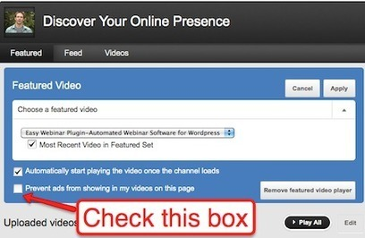 How To Brand Your New YouTube Profile | SocialMediaExaminer | Multimedia Journalism | Scoop.it