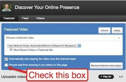 How To Brand Your New YouTube Profile | SocialMediaExaminer | Aplicaciones y Herramientas . Software de Diseño | Scoop.it