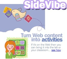 SideVibe   Create: 2.0 Tools... and ESL   Scoop.it