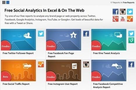 #GrowthHacking: Cuatro herramientas gratuitas para medir el crecimiento de cuentas en redes sociales | Estrategias de Social Media Marketing: | Scoop.it