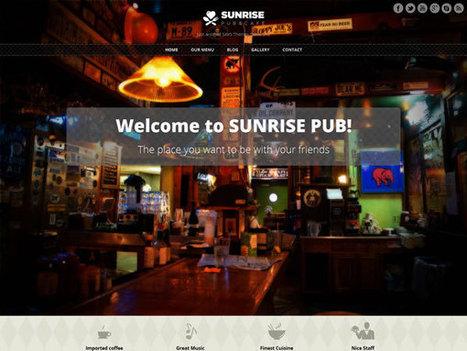 10 Best Free Restaurant WordPress Themes 2014 | webdesign | Scoop.it