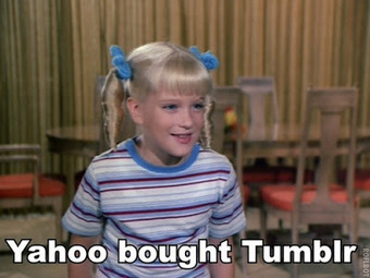 Yahoo Buys Tumblr, Brady Bunch Reunites to Share the News | What People Are Talking About Online | Scoop.it