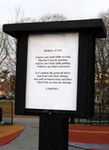 'Poetry post' installed in Lancaster's Musser Park - News | Poetry resources | Scoop.it