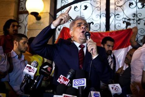 Sabbahi: Morsy's legal legitimacy only removed through vote | Égypt-actus | Scoop.it