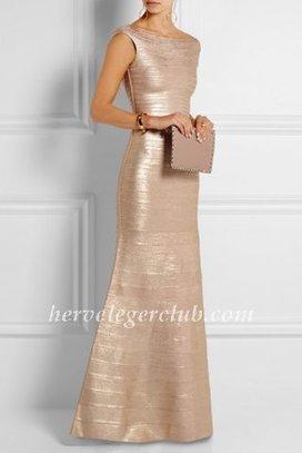 Floor-length Gold Herve Leger Metallic Mermaid Foil Gown [Herve Leger Long Gown] - $179.00 : Herve Leger Dresses | Cheap Herve Leger | Prom & Homecoming Dresses | Scoop.it