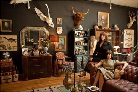 Personal Steampunk Museums: Hollister & Porter Hovey Turn Home Into Vintage Victorian Wonderland | steampunk | Scoop.it
