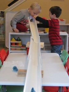 Engineering with ramp making materials in preschool | Teach Preschool | Scoop.it