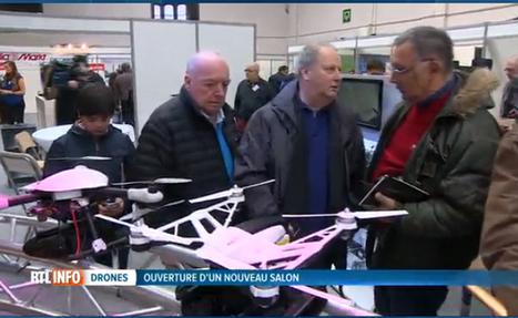 Ouverture du premier salon du drone à Bruxelles: son avenir semble tout tracé (vidéo) | Une nouvelle civilisation de Robots | Scoop.it