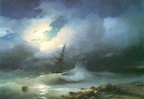 Mesmerizing Translucent Waves from 19th Century Paintings | Cabinet d'illustrations et de curiosités | Scoop.it