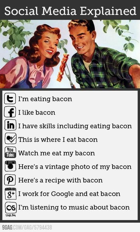 Social media -explained with HUMOUR | Brainfriendly, motivating stuff for ESL EFL learners | Scoop.it