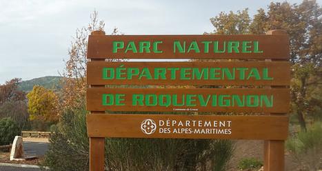 Inauguration du parc naturel départemental de Roquevignon à Grasse   Côte d'Azur Tourisme   Scoop.it
