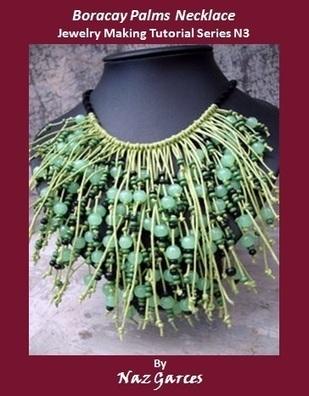 Boracay Palms Necklace Jewelry MakingTutorial - DIY Beading Club | DIY Macrame Jewelry Tutorials | Scoop.it
