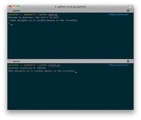Un logiciel pour tchater sans connexion réseau - Korben | techmefr | Scoop.it