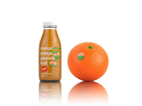 RAW Fruits : un packaging des plus jus-dicieux ! - Communication (Agro)alimentaire | Communication Agroalimentaire | Scoop.it