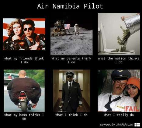 Air Namibia Pilot   What I really do   Scoop.it