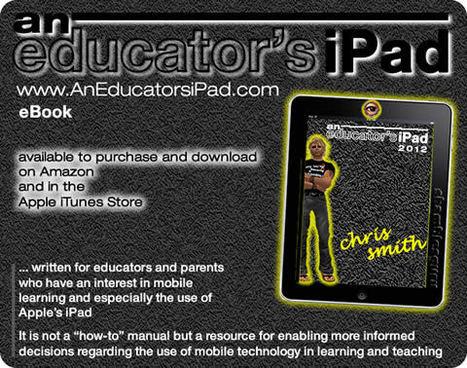 "eBook: ""An Educator's iPad"" ... published - Flat Classrooms   Flat Classroom   Scoop.it"