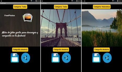 FreePhotos: descarga y comparte miles de fotos (Android)│@softapps | Contar con TIC | Scoop.it