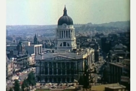 Nottingham in the mid-1960s - VIDEO | All things Sixties | Scoop.it