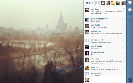 Instagram, Twitter posts begin to flow from North Korean 3G network | Social Networking Services | Scoop.it