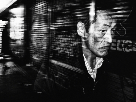 Striking Black & White Photographs Capture the Chaotic Streets of Tokyo - PetaPixel | Fuji X-E1 and X100(S) | Scoop.it