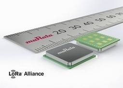 Murata entre de plain-pied sur le marché des modules radio LoRa | Internet du Futur | Scoop.it