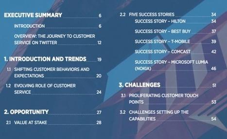 Twitter sort un guide gratuit sur le service client pour les marques | RelationClients | Scoop.it