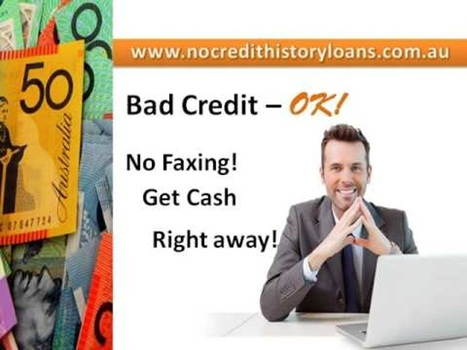No Credit History Loans – Leave Your Credit Tension For... | No Credit History Loans | Scoop.it
