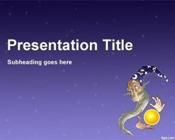 Wizard Design PowerPoint Template   Plantillas PowerPoint Gratis   Plantilas PowerPoint   Scoop.it