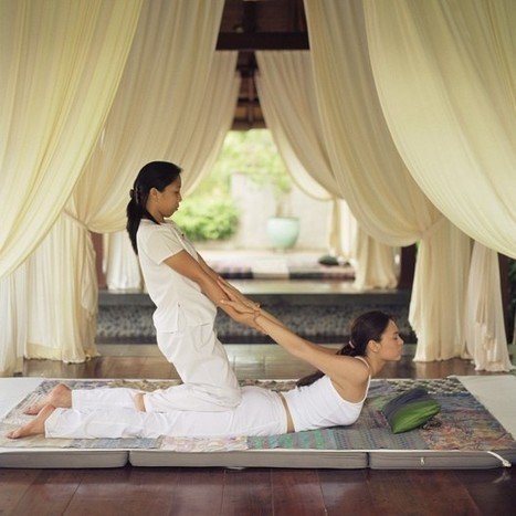 On se détend avec un bon massage thaïlandais - Elle | FORMATION MASSAGE | Scoop.it
