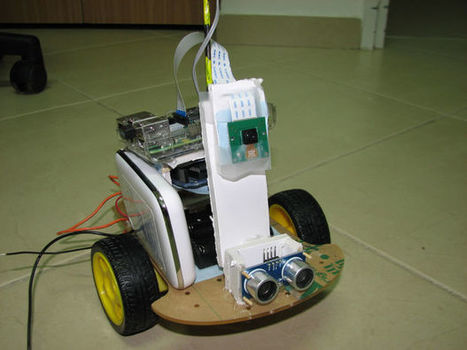 Build your Internet Controlled Video-Streaming Robot with Arduino and Raspberry Pi | Open Source Hardware News | Scoop.it
