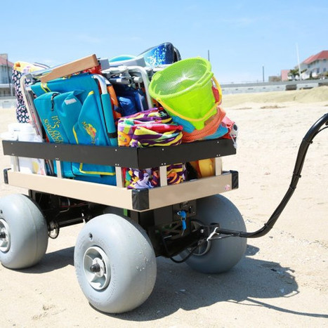 Sandhopper Electric Beach/Utility wagon | The Wagon Store | Scoop.it