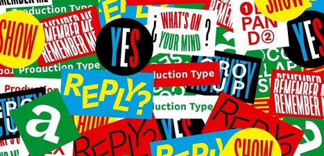Bonjour Production Type ! | What's new in Visual Communication? | Scoop.it