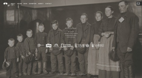 C. 1900s: IMMIGRANT FAMILY, ELLIS ISLAND, NEW YORK (VIA EUROPEANA) | English Usage for French Insights | Scoop.it