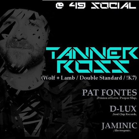 Deep House Mix Of The Week ~ Boston's Native Residents D-Lux & Tanner Ross. 49 Social Presents NYE: D-Lux & Tanner Ross… Can You Dig it! | Christmachine | Dance Music Electronic - Hard On Club | Scoop.it