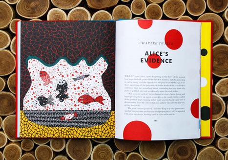 Yayoi Kusama, Japan's Most Celebrated Contemporary Artist, Illustrates Alice in Wonderland   D_sign   Scoop.it