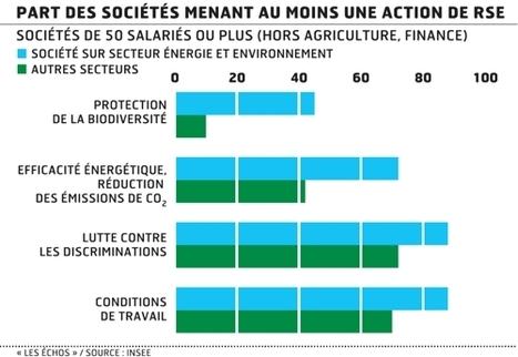 Les entreprises assument de plus en plus leur responsabilité sociétale - Les Echos | veille management | Scoop.it