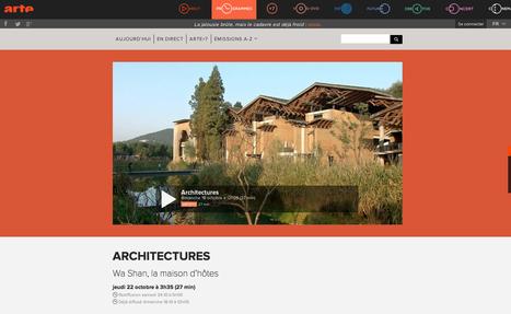 """Architectures """"Wa Shan, la maison d'hôtes construite de 2011 à 2013 par l'architecte Wang Shu """"- ARTE   Architecture Organique   Scoop.it"""