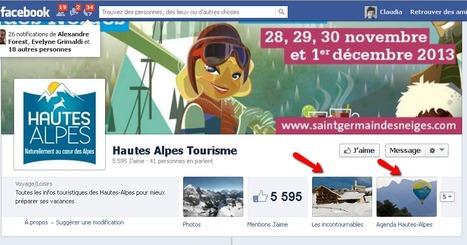 Page Facebook Hautes Alpes Tourisme | Sites qui ont implémenté les Widgets Sitra | Scoop.it