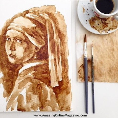 Coffee as a work of art   Amazing Online Magazine   Scoop.it
